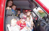 """Wir Gugginger Familienfest 2013 """"Feuerwehrauto fahren"""""""