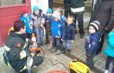 Feuerwehr zu Besuch im Kindergarten