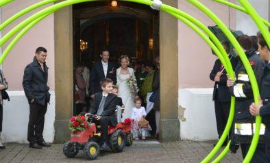 Hochzeit eines Kameraden