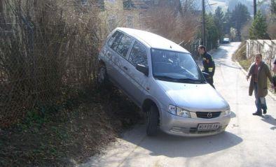 Fahrzeugbergung - PKW macht sich selbstständig